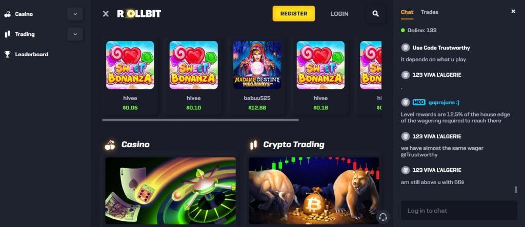 RollBit Crypto Casino