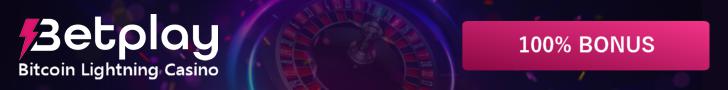 Betplay.io Bitcoin Lightning Casino